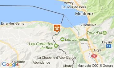 Mappa Evian les Bains Casa 84422