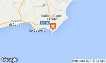 Mappa Isola di Capo Rizzuto Appartamento 86613