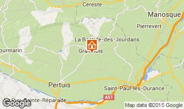 Mappa La Tour d'Aigues Villa  88824