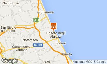 Mappa Roseto degli Abruzzi Appartamento 83270