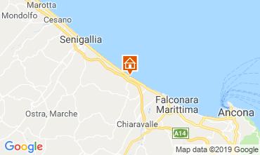 Mappa Senigallia Appartamento 116942