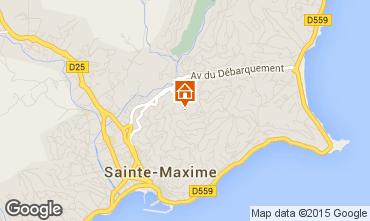 Mappa Sainte Maxime Casa 22491