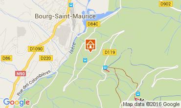 Mappa Les Arcs Appartamento 270