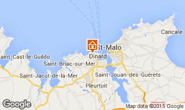 Mappa Dinard Casa 55527