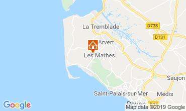 Mappa Les Mathes Casa mobile 118043