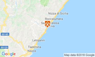 Mappa Taormina Appartamento 114813