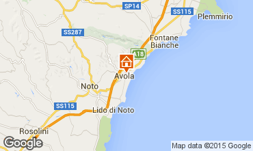 Mappa Avola Monolocale 26428