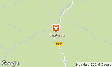 Mappa Cauterets Appartamento 4095