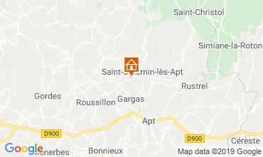 Mappa Saint Saturnin les Apt Agriturismo 118385