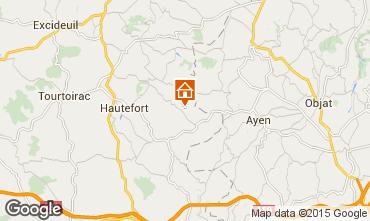 Mappa Montignac sur V�z�re (Grottes de Lascaux) Agriturismo 97938