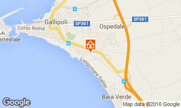 Mappa Gallipoli Appartamento 97119