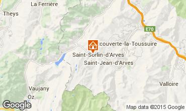 Mappa Saint Sorlin d'Arves Chalet 2686