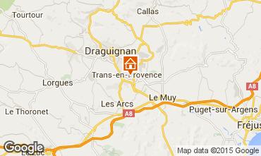 Mappa Draguignan Villa  83136
