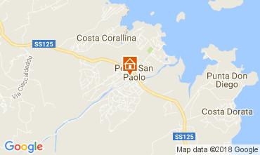 Mappa Porto San Paolo Appartamento 112833