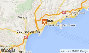 Mappa Nizza Appartamento 98589