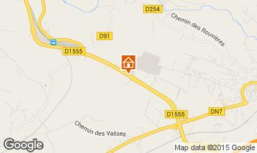 Mappa Le Muy Casa mobile 76587