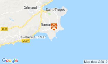 Mappa Saint Tropez Casa 119986