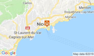 Mappa Nizza Appartamento 32914