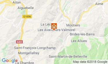 Mappa Valmorel Appartamento 66025