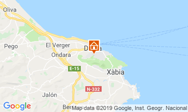 Mappa Dénia Appartamento 68782