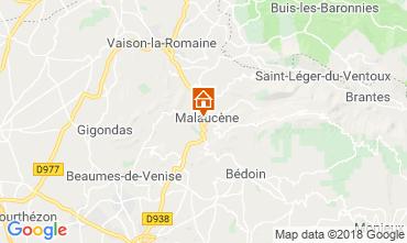 Mappa Malaucène Casa 116203