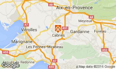 Mappa Aix en Provence Appartamento 85504
