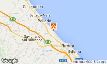 Mappa Rimini Appartamento 40527