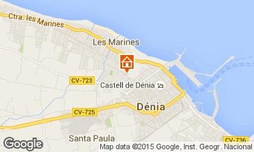 Mappa Dénia Appartamento 78499