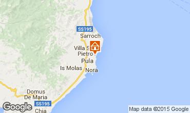 Mappa Pula Chalet 86486