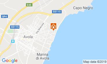 Mappa Avola Villa  107899