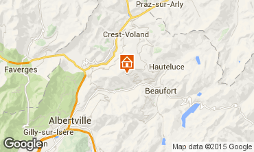 Mappa Les Saisies Appartamento 59791