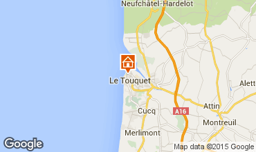 Mappa Le Touquet Villa  101677