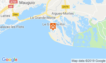 Mappa Le Grau du Roi Casa 118177