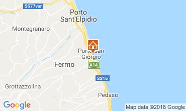 Mappa Porto San Giorgio Appartamento 117599