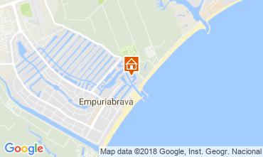 Mappa Empuriabrava Appartamento 113462