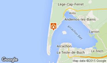Mappa Cap Ferret Villa  29456