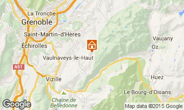Mappa Chamrousse Appartamento 100483