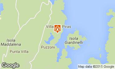 Mappa La Maddalena Appartamento 52751