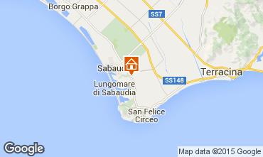 Mappa Sabaudia Casa 47442