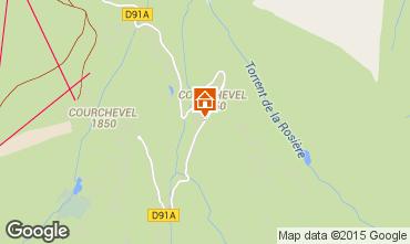 Mappa Courchevel Appartamento 90322