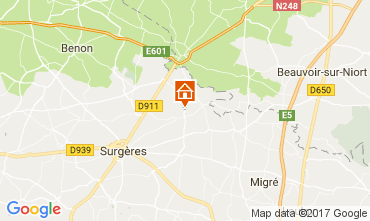 Mappa La Rochelle Villa  107743