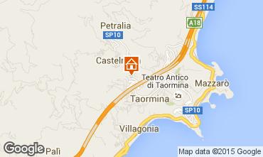 Mappa Taormina Appartamento 92011