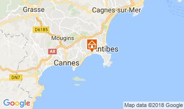 Mappa Juan les Pins Appartamento 115401