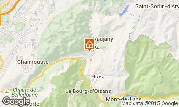 Mappa Alpe d'Huez Chalet 21