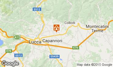 Mappa Lucca Appartamento 97907