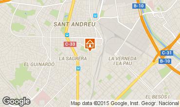 Mappa Barcellona Appartamento 60240