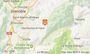 Mappa Chamrousse Appartamento 107456