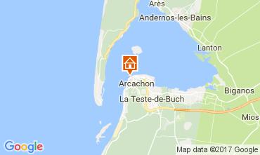 Mappa Arcachon Appartamento 108450