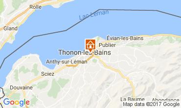 Mappa Thonon Les Bains Appartamento 110536