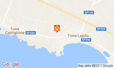 Mappa Porto Cesareo Appartamento 98906